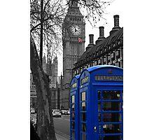 London - Blue Photographic Print