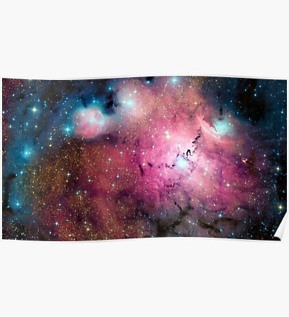Orion Nebula, space exploration, astronomy, science, astrophysics Poster