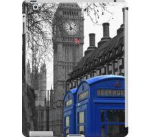 London - Blue iPad Case/Skin