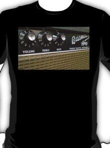 Vintage Bassman tube amp tshirt T-Shirt