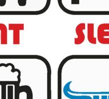 SOUTH AFRICA SEXY SUPER RUGBY BLUE BULLS SUPORTER T SHIRT BRAAI BILTONG Sticker