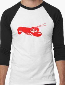 Lobster Outline Men's Baseball ¾ T-Shirt