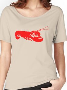 Lobster Outline Women's Relaxed Fit T-Shirt