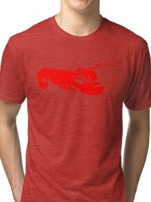 Lobster Outline Tri-blend T-Shirt
