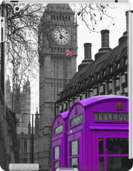 London - Purple by stevebluey