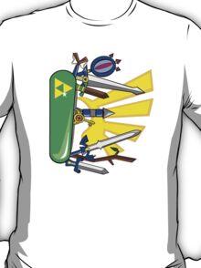 Zelda Pocket Knife Nintendo T-Shirt