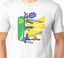 Zelda Pocket Knife Nintendo Unisex T-Shirt