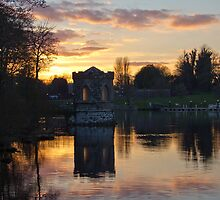 Sunset at Lough Key by Nicola Lee