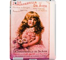 The girl and her doll, which never separated and never. iPad Case/Skin