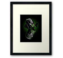 A Monster Framed Print