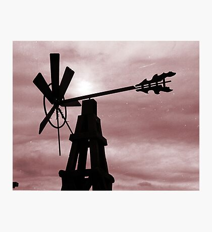 Wind mill Photographic Print