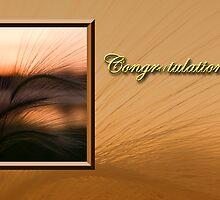 Congratulations Grass Sunset by jkartlife