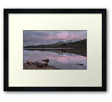 Coniston Sunrise Framed Print