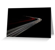 Motorway Madness Greeting Card