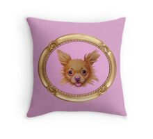 Tiny Dancer (Gold Frame) Throw Pillow