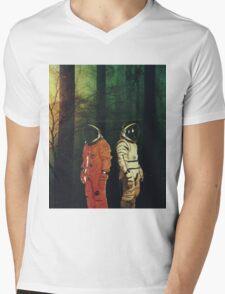 Lost # 1 Mens V-Neck T-Shirt