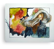 Bigger Then Her Painting Canvas Print