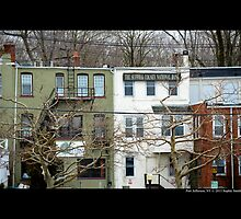 Arden Place Buildings - Port Jefferson, New York  by © Sophie W. Smith