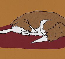 Sleeping Collie by Sophie Corrigan