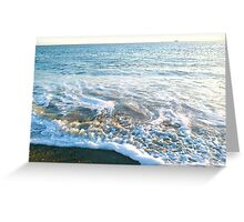natures bubble bath Greeting Card