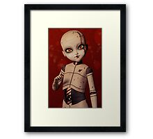 Ball Jointed Doll - Love Framed Print