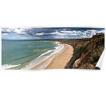 Pt Roadknight Storms,Great Ocean Road,Australia. Poster