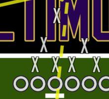 Baltimore Ravens Touchdown Sticker