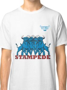 BLUE BULLS  STAMPEDE RUGBY Classic T-Shirt