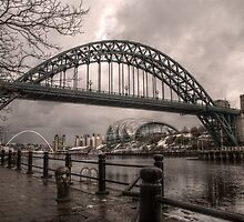 HDR Tyne Bridge by Andrew Pounder