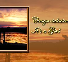 Congratulations It's A Girl Pier by jkartlife