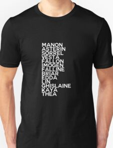 Manon 13 Black T-Shirt
