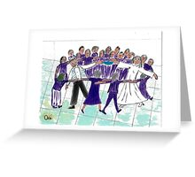 Jewish Wedding Circle Dance Greeting Card