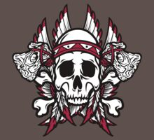 Native American Skull by SmittyArt
