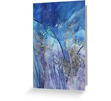 Hide & Seek Wax Butterfly Art Greeting Card