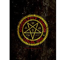 OCCULTIST UNION LOCAL 666     019 Photographic Print