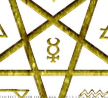 OCCULTIST UNION LOCAL 666     019 Sticker