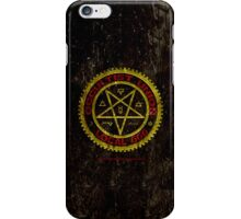 OCCULTIST UNION LOCAL 666     019 iPhone Case/Skin