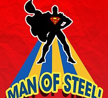 The man of steel by charmainechiang