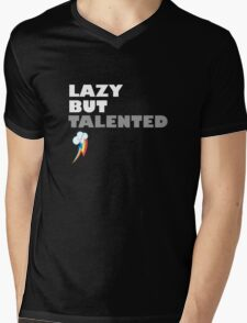 Lazy But Talented - Rainbow Dash Mens V-Neck T-Shirt