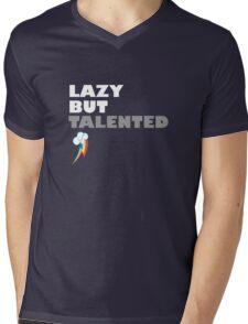 Lazy But Talented - Rainbow Dash Mens V-Neck T-Shirt