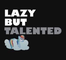 Lazy But Talented - Rainbow Dash VIP Kids Clothes
