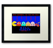 Kill Screen: Game Over Framed Print