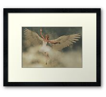 Ballerina Angel Framed Print