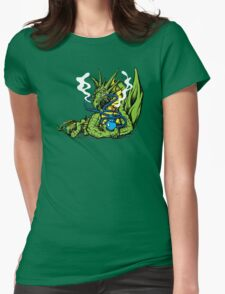 HOOKAH DRAGON Womens Fitted T-Shirt