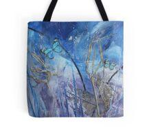 Hide & Seek Wax Butterfly Art Tote Bag
