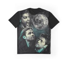 The Mountain Team Free Will Moon - Supernatural Edition Graphic T-Shirt