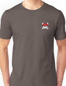 pokemon pokeball side by side style Unisex T-Shirt