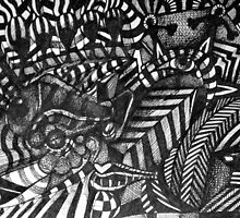 Portrait Ink Study 2. by - nawroski -