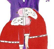 Santa Times Two by OraMorrison