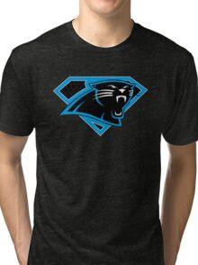 Super Panthers of the Carolinas (Design 1) Tri-blend T-Shirt